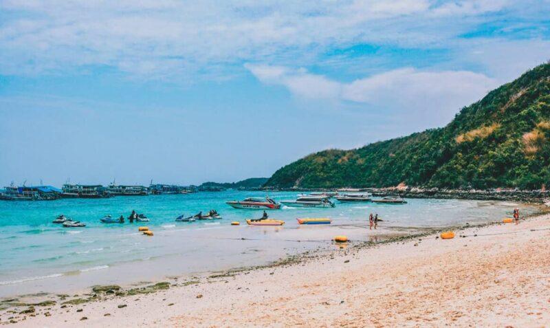 หาดทองหลาง เกาะล้าน